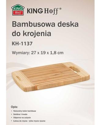 BAMBOO VIRTUVĖS LENTELĖ 27x19cm KINGHOFF KH-1137